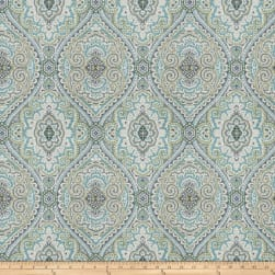 Fabricut Pocket Medallion Slub Breeze Fabric