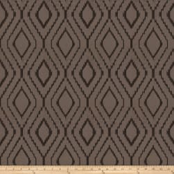 Fabricut Poker Velvet Charcoal Fabric