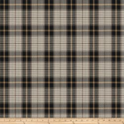 Fabricut Puran Plaid Coal Fabric