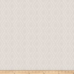 Fabricut Rare Diamond Embroidered White Fabric
