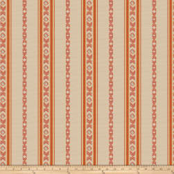 Isabelle De Borchgrave Regal Stripe Canyon Fabric