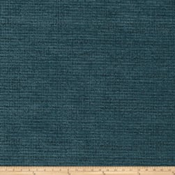 Fabricut Remington Chenille Basketweave Peacock Fabric