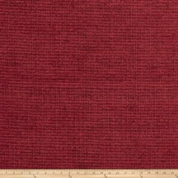 Fabricut Remington Chenille Basketweave Sangria Fabric