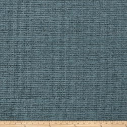 Fabricut Remington Chenille Basketweave Teal Fabric