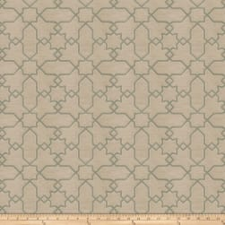 Fabricut Remora Jacquard Sea Green Fabric