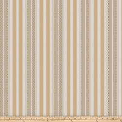 Fabricut Roger Stripe Taffeta Gold Leaf Fabric