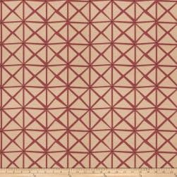 Fabricut Rohu Lattice Jacquard Boysenberry Fabric