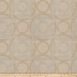 Fabricut Roxy Rings Linen Blend Fieldstone Fabric