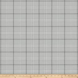 Fabricut Rudder Plaid Steel Fabric