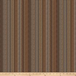 Fabricut Rustic Stripe Chenille Copper Fabric