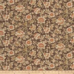 Fabricut Sabatier Coffee Linen Fabric