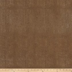 Fabricut Salem Faux Leather Pecan Fabric