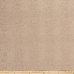 Fabricut Schreiber Faux Leather Beige Fabric