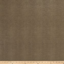 Fabricut Schreiber Faux Leather Taupe Fabric
