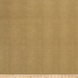 Fabricut Schreiber Faux Leather Almond Fabric