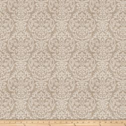 Fabricut Scoop Ikat Barkcloth Natural Fabric