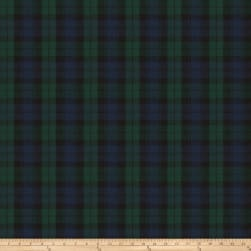 Fabricut Scot Plaid Twill Blackwatch Fabric