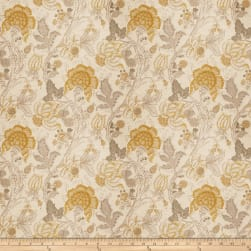 Fabricut Senia Linen Blend Yellow Fabric