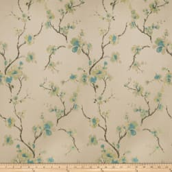Fabricut Shiner Orchid Jacquard Teal Fabric