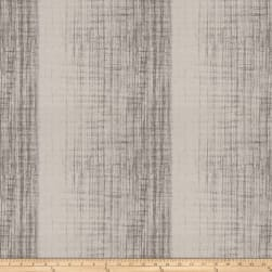 Fabricut Showbox Stripe Jacquard Charcoal Fabric