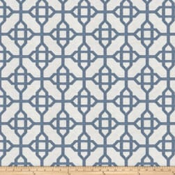 Fabricut Skyrocket Jacquard Blue Fabric
