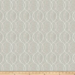Fabricut Smashing Embroidered Metallic Linen Mist Fabric