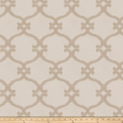 Fabricut Snipes Lattice Jacquard Linen Fabric