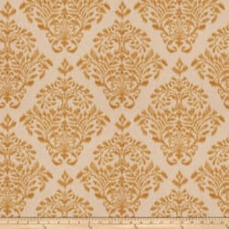 Fabricut Tact Damask Basketweave Honey Fabric