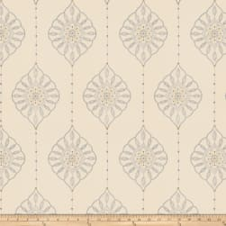 Fabricut Taj Medallion Porcelain Fabric
