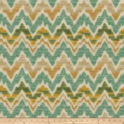Fabricut Tantalyn Barkcloth Teal Fabric