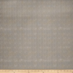 Fabricut Tao Scroll Jacquard Sandstone Fabric