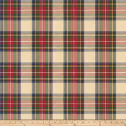Fabricut Tartan Twill Plaid Multi Fabric
