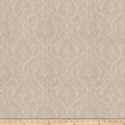 Fabricut Teddy Damask Linen Blend Linen Fabric