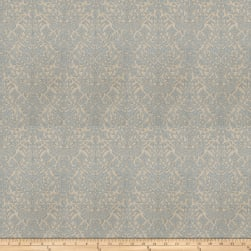 Fabricut Tell Kilim Linen Blend Canvas River