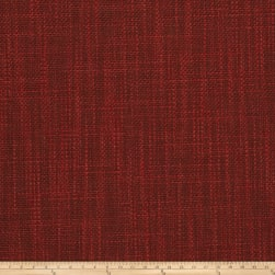 Fabricut Tempest Basketweave Red Fabric