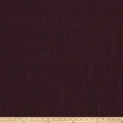 Fabricut Tempest Basketweave Burgundy Fabric