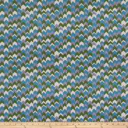 Fabricut The Clash Teal Fabric