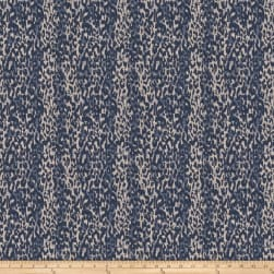 Fabricut Tigers Eye Jacquard Indigo Fabric