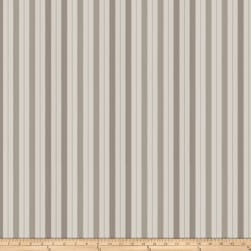Fabricut Transient Stripe Sateen Pewter Fabric
