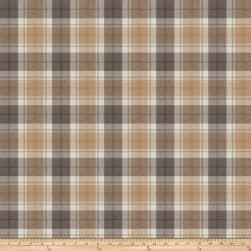 Fabricut Twitch Plaid Platinum Fabric