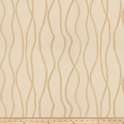 Fabricut Vega Metallic Gold Fabric