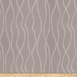 Fabricut Vega Metallic Grey Silver Fabric