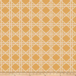 Fabricut Vlad Lattice Jacquard Mimosa Fabric