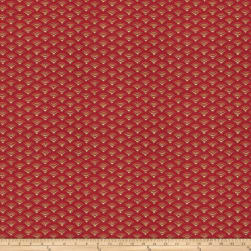 Fabricut Vulgare Twill Red Fabric