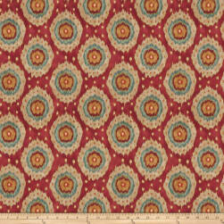 Fabricut Wallace Twill Exotic Red Fabric