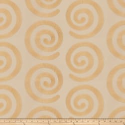 Fabricut Warm Hearted Satin Jacquard Gold