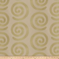 Fabricut Warm Hearted Satin Jacquard Willow