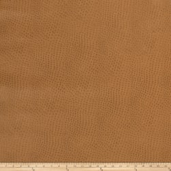 Fabricut Westbury Faux Leather Caramel Fabric