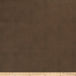 Fabricut Westbury Faux Leather Pecan Fabric