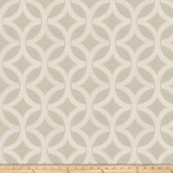 Fabricut Wow Lattice Jacquard Fog Fabric